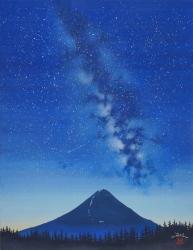 天の川富士
