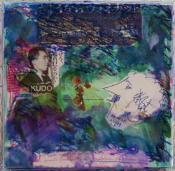 田部光子 「さようなら VONNEGAT&KUDO」ミクストメディア 23×23×5cm