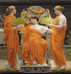 アルバート・ムーア 《真夏》 1887年 ラッセル=コート美術館