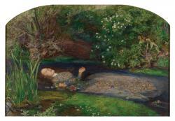 ジョン・エヴァレット・ミレイ 《オフィーリア》 1851-52年 油彩・カンヴァス テート美術館蔵 ©Tate