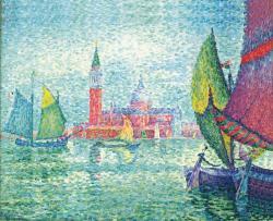 ポール・シニャック《ヴェネツィア》 1908年 油彩 73.5×95.0cm