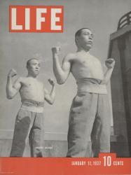 『LIFE』1937年1月11日号 [表紙写真:名取洋之助]個人蔵