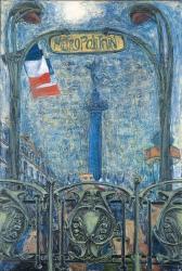西村功<パリ祭のバスチーユ>1978年