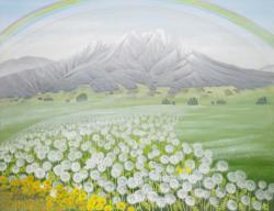 原田満佐子 「その風の詩」 2010年 個人蔵