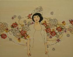"""秦絵里子 """"Perfumed  chain"""" (アート☆アイガ 2010/7/2~7/19)-2"""