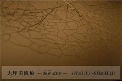 大坪美穂展 海界 (フィリア美術館 2010/7/3~9/26)