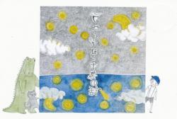 ワニとネコとボクの話 (かしゃま文化会館 2010/9/29~10/17)