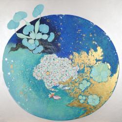 菅かおる 日本画展 (川田画廊 2010/10/1-10/16)