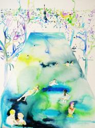 長坂絵夢・井澤由花子展『Solid memory, Liquid scapes』 (アルマスGALLERY 2010/10/2-10/16)-2