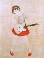 宮井麻奈 -ピグメント&リトグラフ-展 (乙画廊 2010/11/2-11/6)