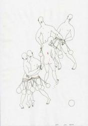 グループ展 「眼差しと好奇心vol.6」 (MIZUMA ACTION 2010/11/24-12/25)-「・・・・・・大丈夫。」(参考図版)