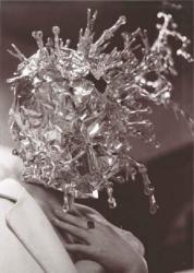 """平田実 """"洗濯バサミとモデル"""" 1963/2010 B & W photograph Image size: 34.2x22.2cm / paper size: 35.6x28cm"""