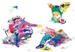"""サイトウケイスケ個展 BIAS BY US""""バイアスバイアス""""  (2011/9/16-25 新宿眼科画廊)"""