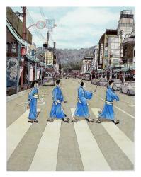 石居麻耶 『鴨川ホルモー』表紙装画