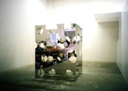 田中米吉 Universality(自己・非自己)No.900-2010 stainless steel / 162.0×125.6×103.6cm / 2010