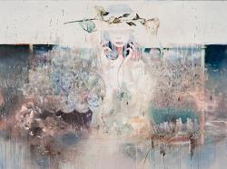 大槻香奈 「妙濁の果て」 2011年 / 97.0×130.3cm / キャンバスにアクリル、油彩、鉛筆