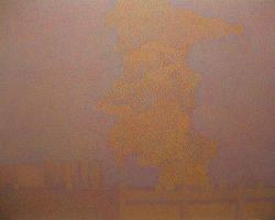 正木美也子 2011年6月19日 リビア、90.9×72.7cm、 oi l on canvas、2011