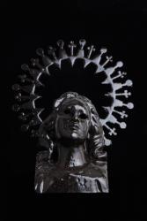 森淳一 shadow 2011  セラミック 510×380×250mm 撮影:木奥惠三 (c)MORI Junichi Courtesy Mizuma Art Gallery