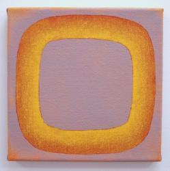 陳若冰「無題」2011年   油彩・キャンバス 25 x 25.2 cm