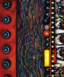 第4回グラフィック「1_WALL」グランプリ受賞者個展 石原一博展 「巽電気~制御盤制作企画室~」 -1