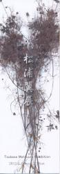 松浦翼展 (ギャラリー椿GT2 2012/2/13-2/18)