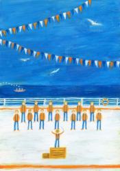 2012/7/5-7/16 artTruth サカモトセイジ「Chorus」  アクリル画