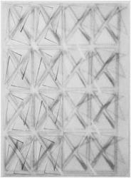 平川ヒロ, 2012年,  紙に木炭, 65.5 x 47.6 cm