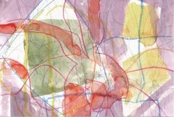 鈴木與四郎 『My Favorite Garden』 270x212mm 鉛筆、色鉛筆、クレヨン、水彩
