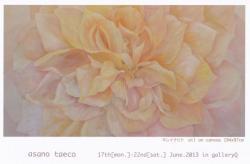 浅野 泰恵子 展 (Gallery Q 2013/6/17-22)