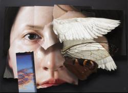 五味文彦《飛行計画-詩は聞えたか-》2012年 ホキ美術館