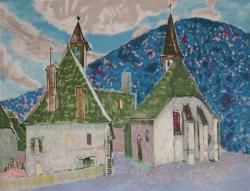 山の礼拝堂