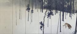 寒月(左隻) 大正元年(1912) 京都市美術館蔵