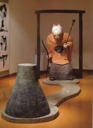 松田一戯  「犬神」  2000年
