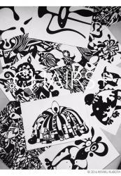 久保田毅楽「Chairs+」巨匠たちの椅子を描いた作品展
