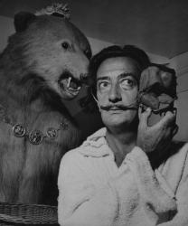Salvador Dalí © Photo by Jean Dieuzaide