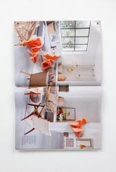 《Home Grown (July 2020)》 2020 ポリマークレイ、雑誌 h.43×w.29×d.5cm