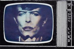 ©BOWIE TV No. 1 1981 by JOHN DOVE and MOLLY WHITE Screenprint