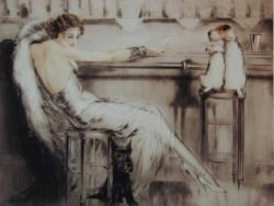 『カクテル』 1932年                                                 ◎Louis Icart Le Cocktail