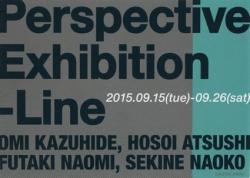 """パースペクティブ- 線 """"Perspective-Exhibition -Line"""""""
