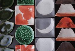 望月集 陶展 「小皿を楽しむ」