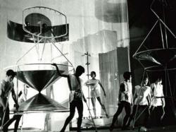 大辻清司『未来のイヴ』舞台写真(ポートフォリオ『Eyewitness』より)1955/2008年 ゼラチンシルバープリント 世田谷美術館蔵