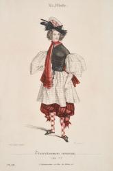 ガヴァルニ『ラ・モード』より/1831 年 (c)Nao Kashima(NOEMA Inc.)All Rights Reserved.