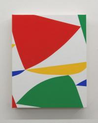 untitled 2021, acrylic on canvas, 40 x 32 cm