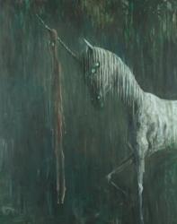 IKKAK 2012年 油彩 162×130 cm