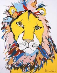 今井龍満《Lion》メナード美術館蔵
