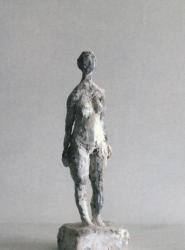 立花英久の塑像