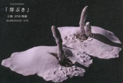 陶ISMグランプリ記念個展 小園さやか 陶展 「芽ぶき」