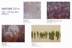 ユニット企画展 MATURE2014 展 (GalleryQ)