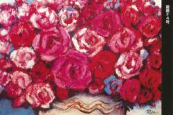 花の記憶 川副了造 油彩展