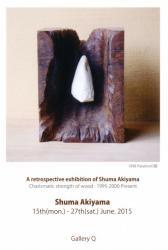秋山秀馬回顧展[カリスマの木疆:1995-2000 Present]